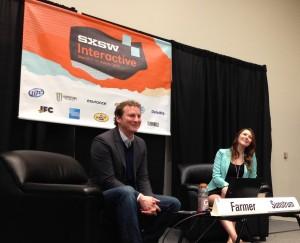 John Paul Farmer (Sr Advisor to the US Chief Technology Advisor) and Nicole Sunstrum (Dir of Social Media at the University of Michegan)